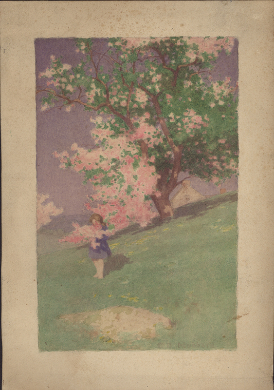 Watercolor Tree Spring Girl.jpg