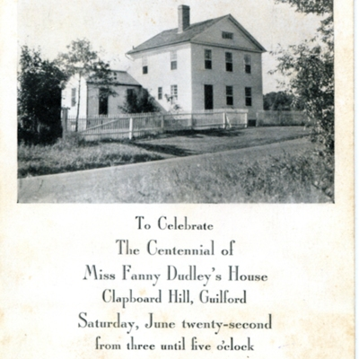 Centennial Celebration 1840-1940 of Fanny Dudley's House Clapbord Hill087.jpg