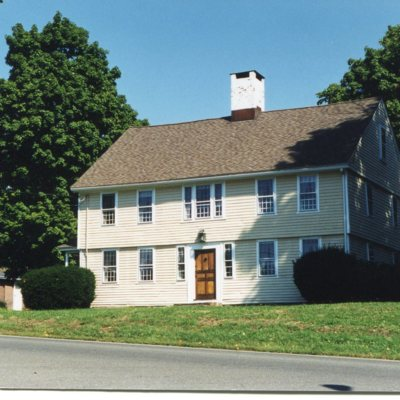 Minor Fowler house, Moose Hil Inn, Boston Post Road, across from intersection with Moose Hill Road, February, 2000.jpg