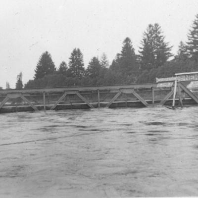 West Side Bridge day before the Hurricane (20 September 1938)