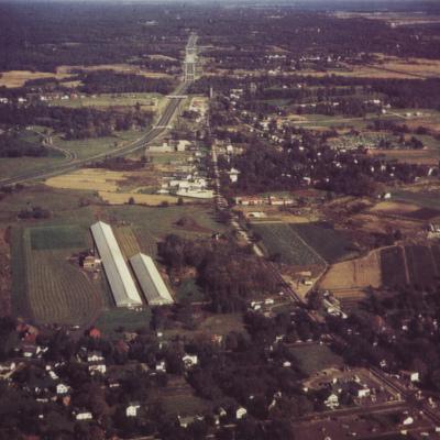Pinchbeck Greenhouses looking East 1959.jpg