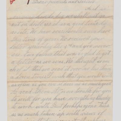 NORTON Elias letter 1862 Mar 5 page 1.jpg