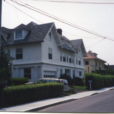 Prospect Avenue, Sachem's Head, Anchorage house, view from street, demolished October 2001, taken August, 2001.jpg