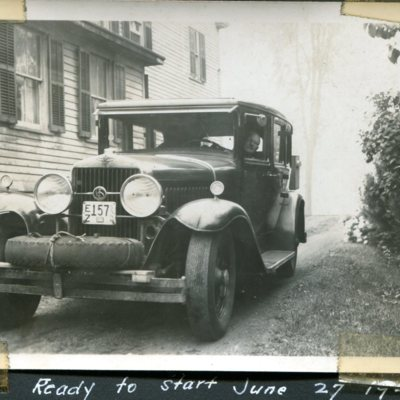 Hubbard leaving for 1947 Maine trip.jpg