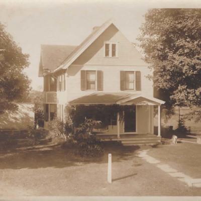 Elmer E. Wilcox and Ada R. Wilcox home.