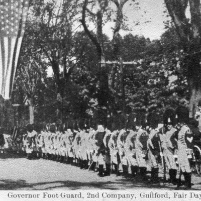 Governor Foot Guard 2nd Company, Guilford Fair Day