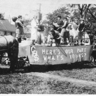 GHS Senior Float Fair Day 1919 Asking for Playing Field091.jpg