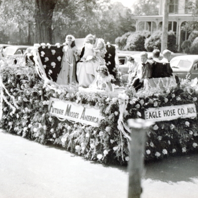 Eagle Hose Company float Guilford Fair circa 1950s058.jpg