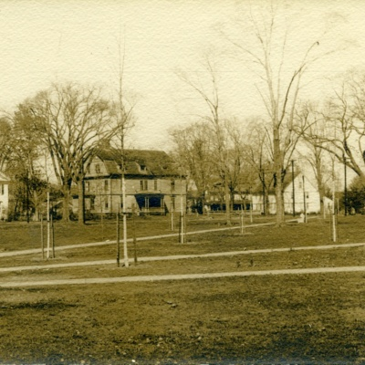 Replanting the Guilford Green after the Hurricane of 1938